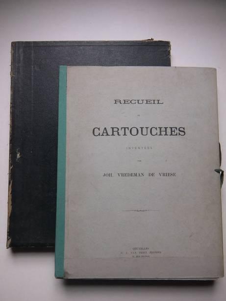 VREDEMAN DE VRIESE, JOH.. - Recueil de Cartouches. Inventées par Joh. Vredeman de Vriese.