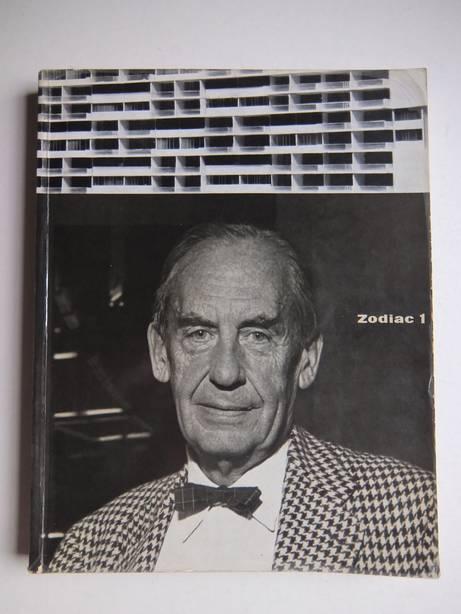 ALFIERI, BRUNO (ED.). - Zodiac 1. International Magazine of Contemporary Architecture/ Rivista internazionale d'architettura contemporanea.