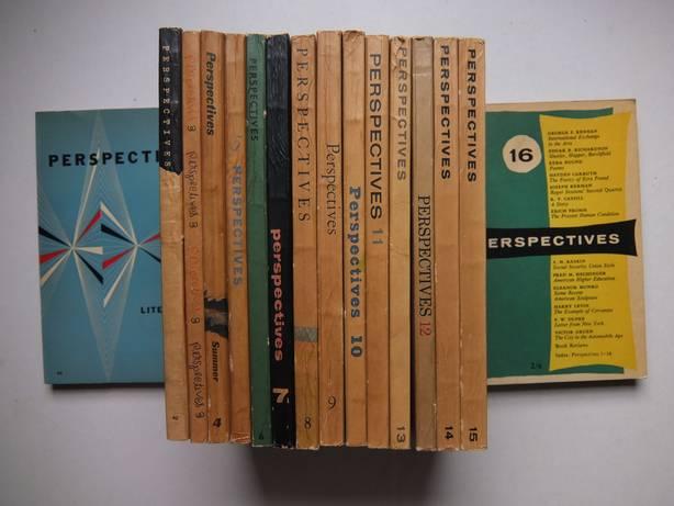 VAR. AUTHORS. - Perspectives 1-16. Literature, art, music. 16 volumes.