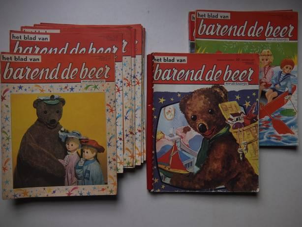 ANDREUS, HANS, ROOIJ, REIN VAN & WEGMAN, FRANS (RED.). - Het Blad van Barend de Beer. Nrs. 1 t/m 14, 16, 18, 19, 20, 28, 30 & 32 t/m 37.