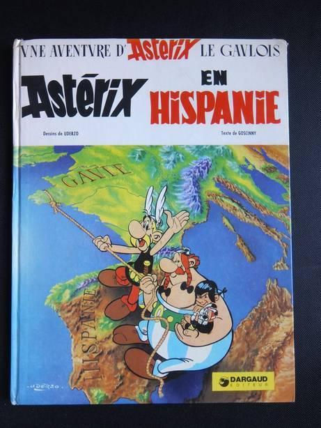 GOSCINNY & UDERZO. - Astérix en Hispanie. Une aventure d'Astérix.
