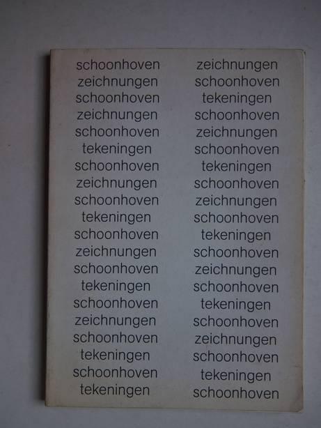 HARTEN, JÜRGEN, TREU, ERWIN & EBBINGE WUBBEN, J.C.. - J.J. Schoonhoven. Zeichnungen- Tekeningen 1940-1975. Städtische Kunsthalle Düsseldorf, 5. September 1975- 12. Oktober 1975/ Museum Boymans- van Beuningen, Rotterdam, 29 November 1975- 11 Januari 1976/ Ulmer Museum, Museum der Stadt Ulm, 25. Januar 1976- 7. März 1976.