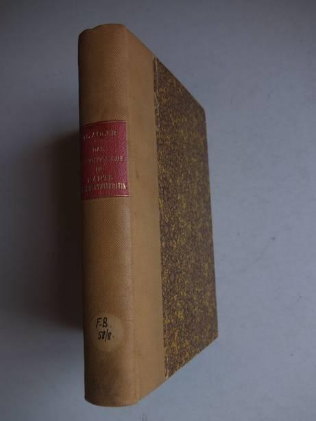ADLER, MAX - Das soziologische in Kants Erkenntniskritik; ein Beitrag zur Auseinandersetzung zwischen Naturalismus und Kritizismus.